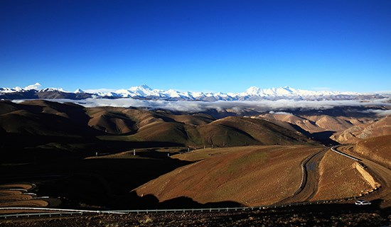 Rental Car Tour from Sichuan via Tibet to Nepal with Everest
