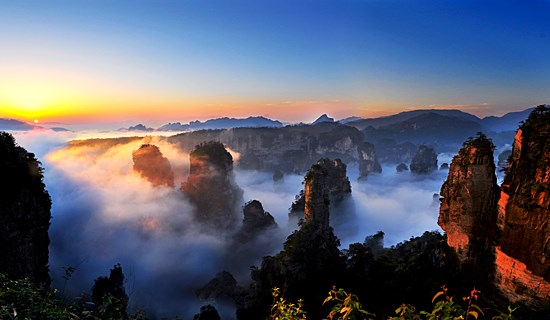 China Rental Car Tour to Nature Wonders in Southwest China