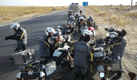 Motorbike Tour from Laos across China to Mongolia